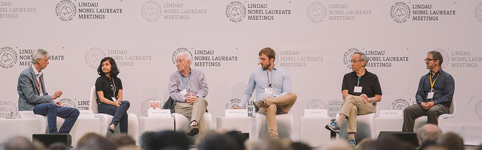 Panel Discussion (2018) - Science in a Post-Factual World; Steven Chu, Peter C. Doherty