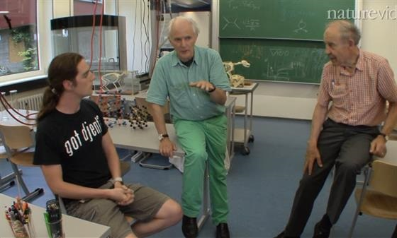 Beyond the Classroom (2012) - Three young researchers join laureates Harry Kroto and Dudley Herschbach to discuss how science is perceived beyond the classroom.