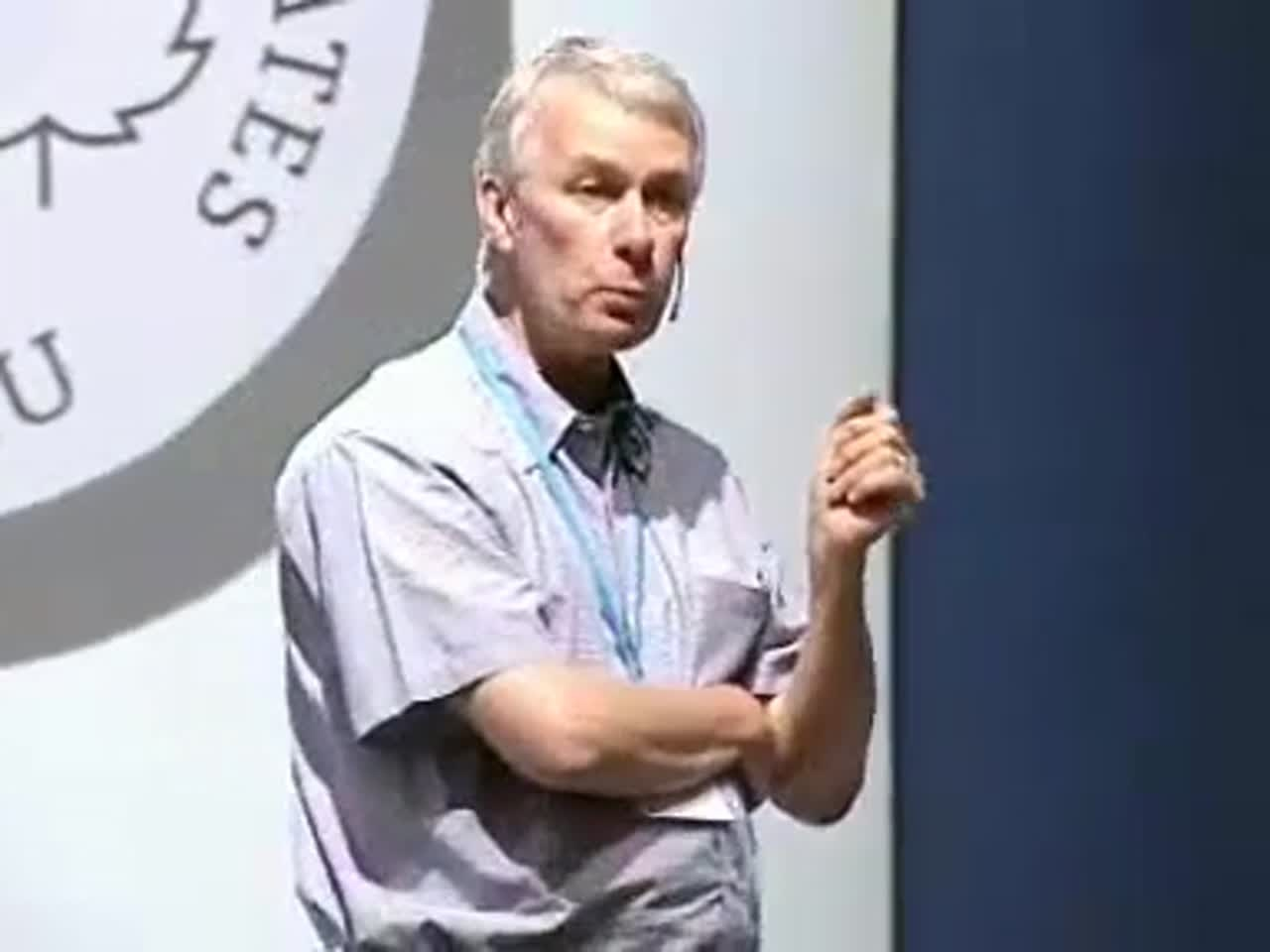 Richard Roberts (2007) - Why I love microbes