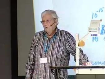 Nicolaas Bloembergen (2008) - From Millisecond to Attosecond Laser Pulses
