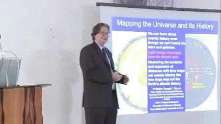 George Smoot (2010) - Mapping the Universe and Its History (Lecture + Discussion)