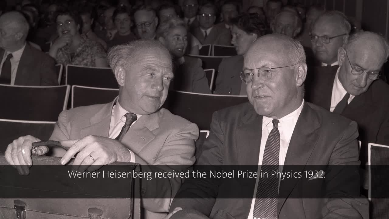 Werner Heisenberg (1955) - Plans for a German reactor (German presentation)