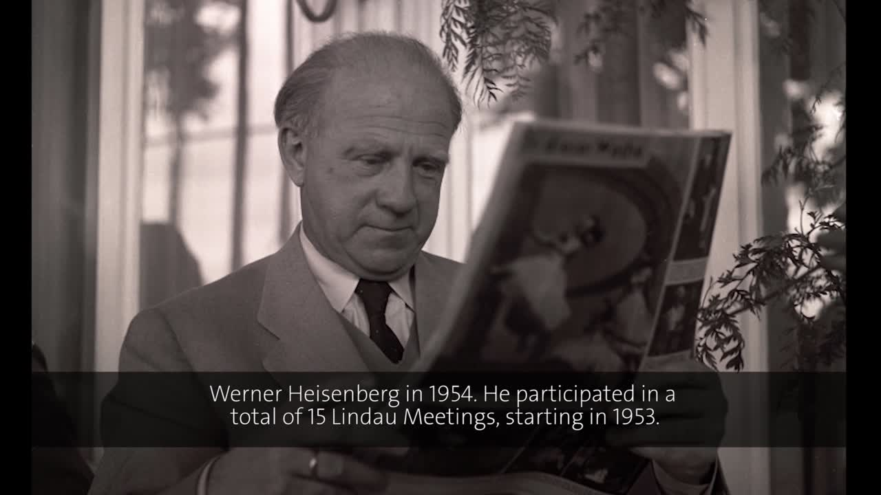 Werner Heisenberg (1971) - Physical and political considerations in the construction of large particle accelerators (German presentation)