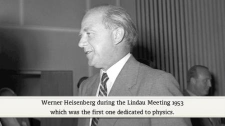 Werner Heisenberg (1953) - Developments and Difficulties in the Quantum Theory of Elementary Particles (German Presentation)