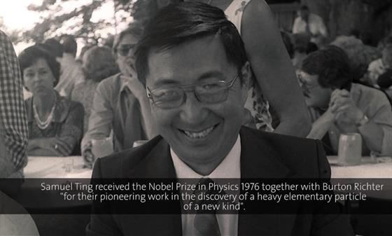 Samuel Ting (1985) - Search for the fundamental building blocks of nature