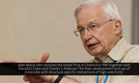 Jean-Marie Lehn (1990) - Supramolecular chemistry: scope and perspectives