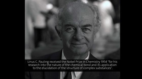 Linus Pauling (1964) - The Structure of Molecules in Relation to Medical Problems