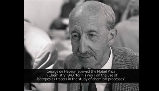 George de Hevesy (1955) - Path of Atoms Through Generations (German presentation)