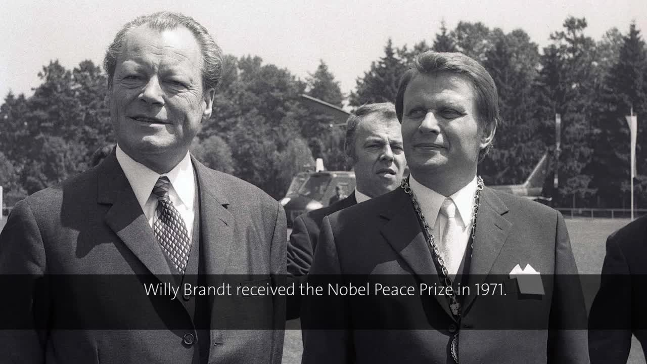 Willy Brandt (1972) - Environmental Protection as an International Mission (German presentation)