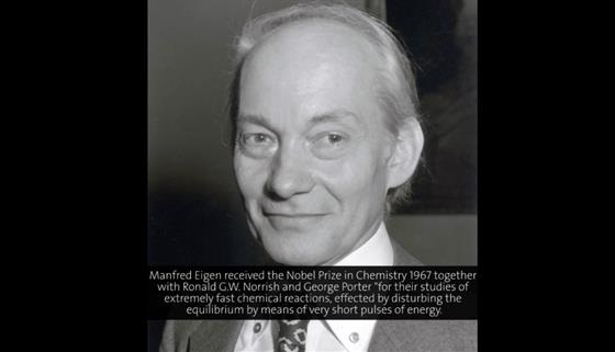 Manfred Eigen (1977) - The Origin of Biological Information