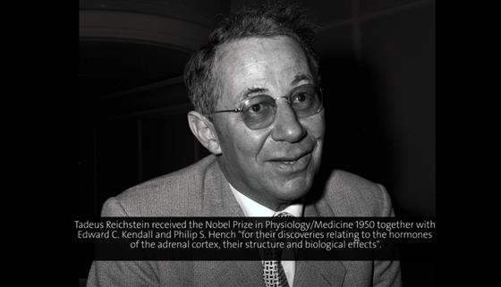 Tadeus Reichstein (1954) - The Most Important Hormones of the Adrenal Cortex (German presentation)