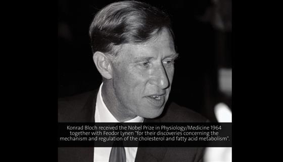 Konrad Bloch (1969) - Comparative Enzymology of Lipid Biosynthesis