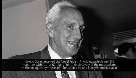 Severo Ochoa (1978) - The Regulation of Protein Synthesis (German presentation)
