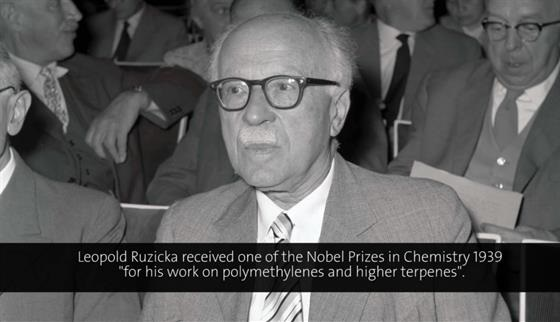 Leopold Ruzicka (1958) - On the Biogenesis of Natural Organic Compounds (German presentation)