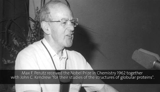 Max Perutz (1986) - Hemoglobin as Receptor for Drugs: Stereochemistry of Bonding