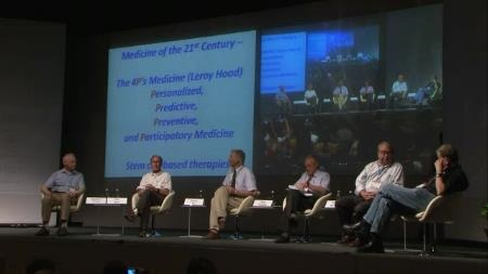Panel Discussion (2011) - Panel Discussion 'Biomedicine: The Future' (with Nobel Laureates Agre, Ciechanover, Evans and Murad)