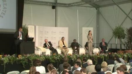 Panel Discussion (2011) - Closing Panel Discussion 'Global Health' (with H. Rosling, Nobel Laureate H. zur Hausen, U. Karunakara, G. Schütte and J. W. Vaupel)