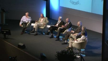 Panel Discussion (2011) - Panel 'Behavioural Economics': George A. Akerlof, Robert J. Aumann, Eric S. Maskin, Daniel L. McFadden, Edmund S. Phelps, Reinhard Selten (Chair: Martin Wolf, Financial Times)