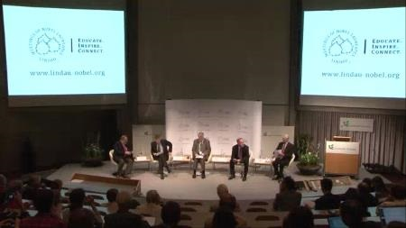 Panel Discussion (2011) - Panel 'From Financial Crisis to Debt Crisis - Financial Markets, Monetary Policy and Public Debt': Robert A. Mundell, Roger B. Myerson, Myron S. Scholes, William F. Sharpe, William R. White (Chair: Martin Hellwig)
