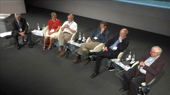 Panel Discussion (2013) - 'Chemical Energy Conversion and Storage' (with Nobel Laureates Ertl, Grubbs, Kohn, Michel, Schrock)