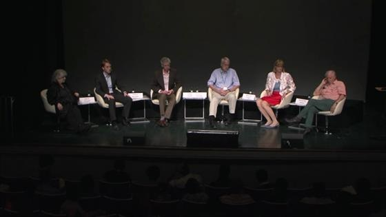 Panel Discussion (2013) - 'Why Communicate?'  (Host: Adam Smith; participating panelists: Kobilka, Kroto, Yonath, Lugger, Engelke)
