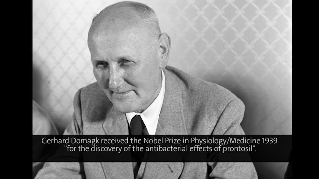 Gerhard Domagk (1954) - Chemotherapy of Tumors (German presentation)