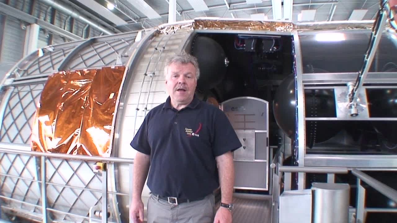 Greetings from the ESA (2014) - Greetings from the ESA astronaut Reinhold Ewald.