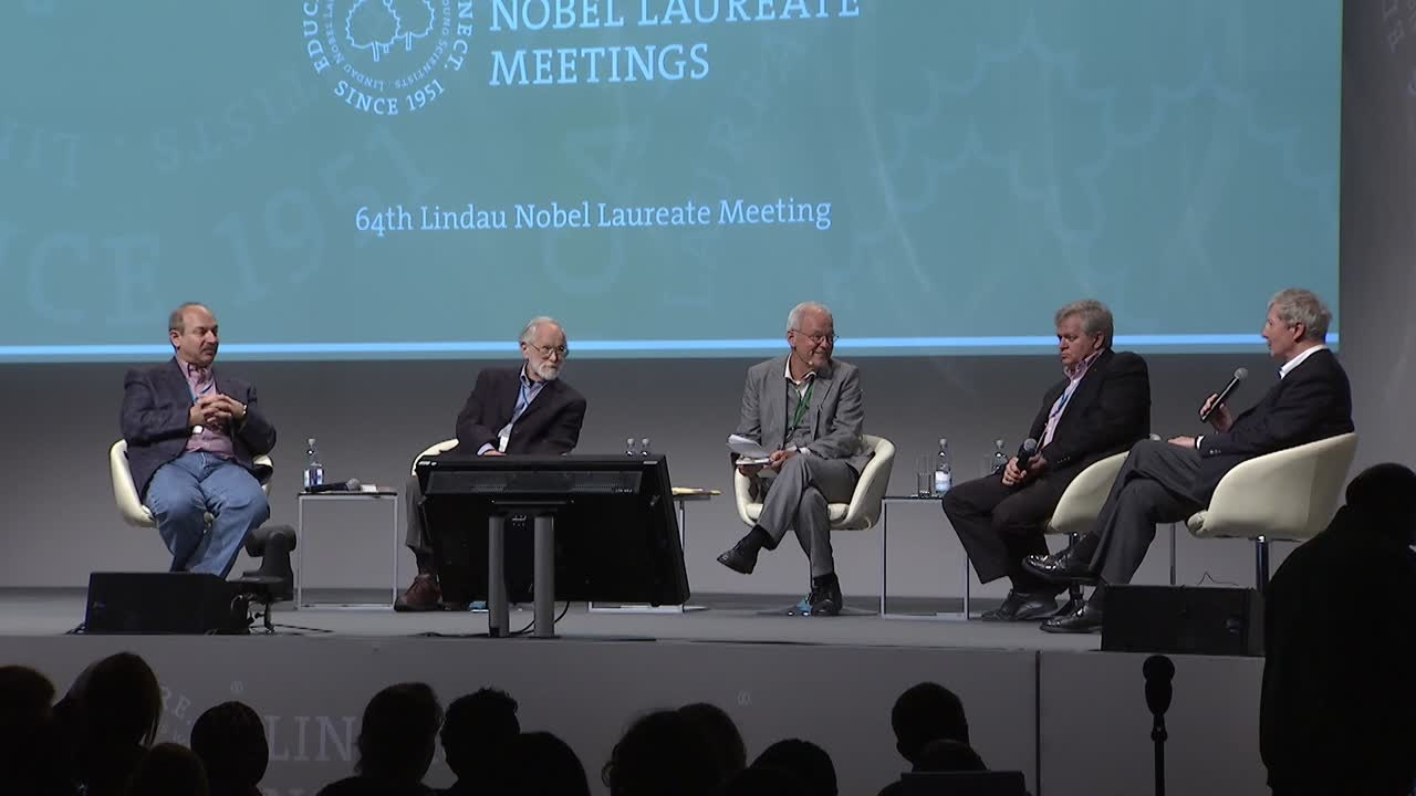 Panel Discussion (2014) - Large Data and Hypothesis - Driven Science in the Era of Post-Genomic Biology; Panelists Hoffmann, Bishop, Beutler, Schmidt
