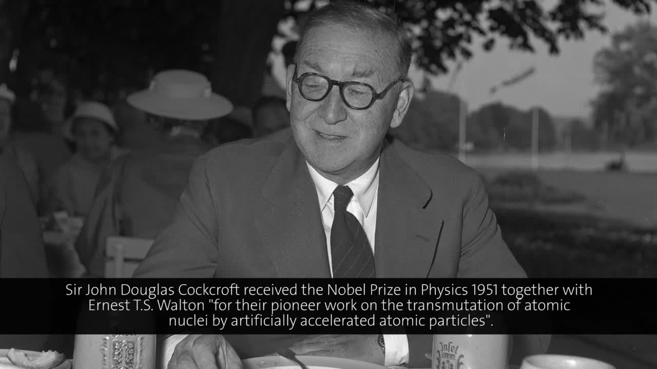 Sir John Cockcroft (1956) - Scientific and Technical Problems in the Development of Nuclear Power