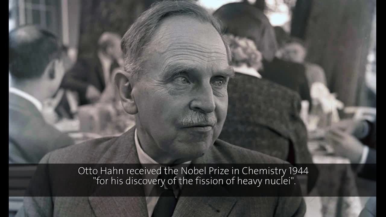 Otto Hahn (1953) - Modern Alchemy - A Way from the Weightless to the Weighty (German presentation)