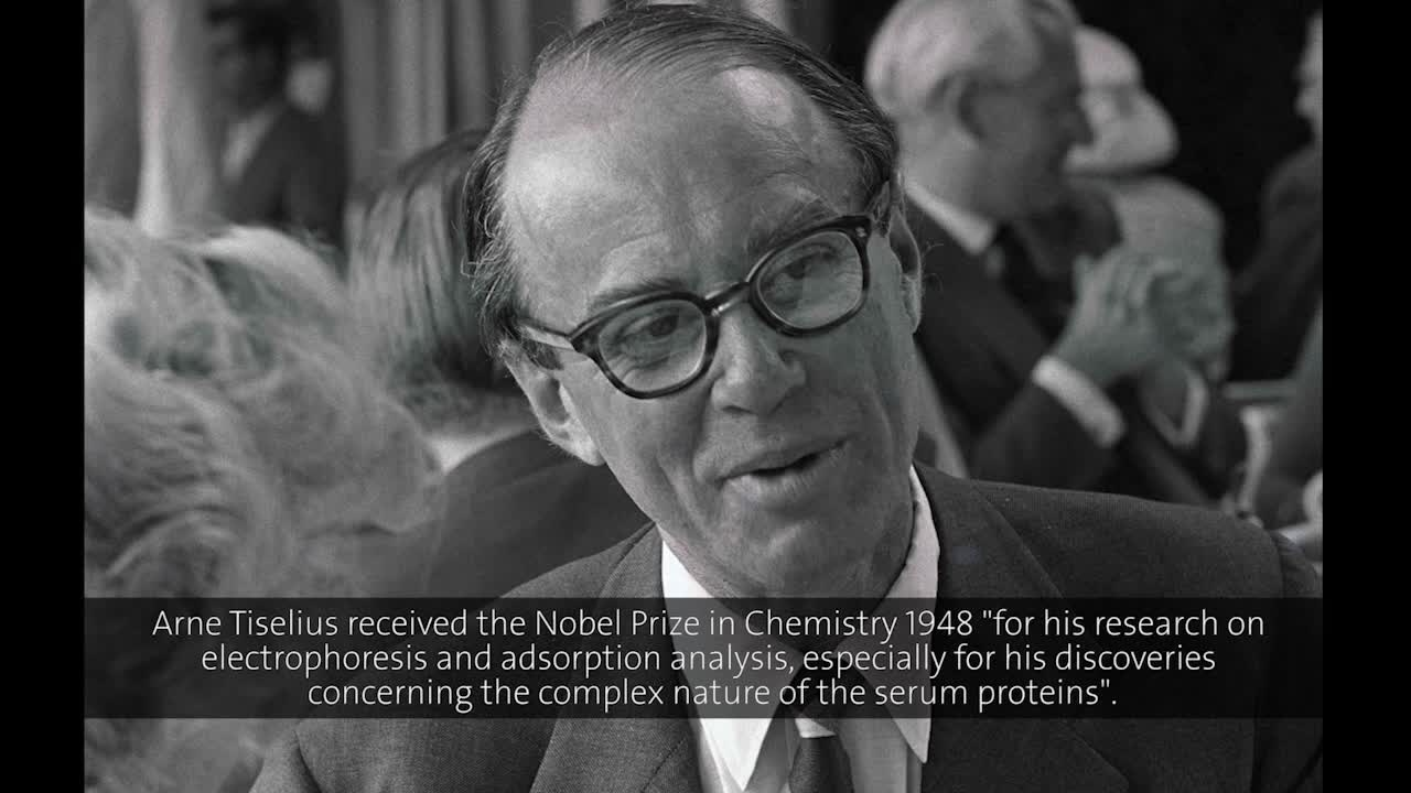Arne Tiselius (1958) - The Nobel Foundation: Some Thoughts on Its Work and Function (German presentation)