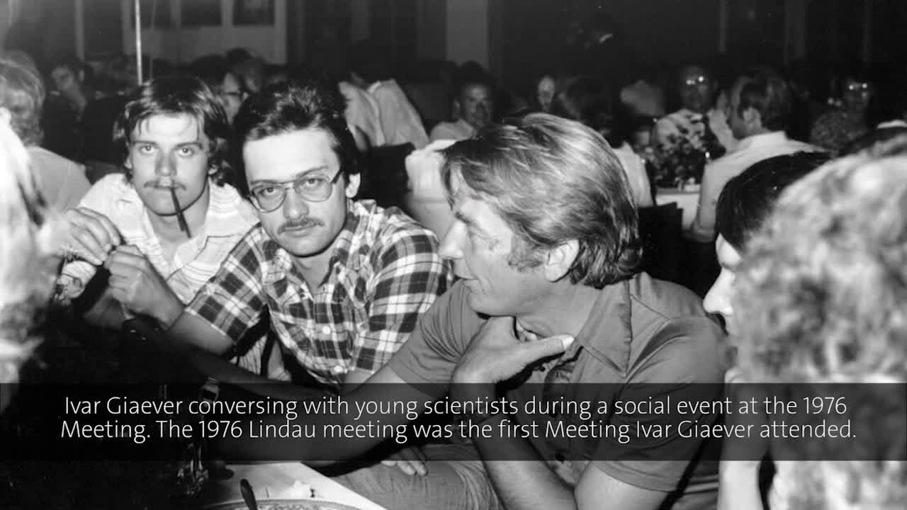 Ivar Giaever (1976) - Surface Physics and Immunology