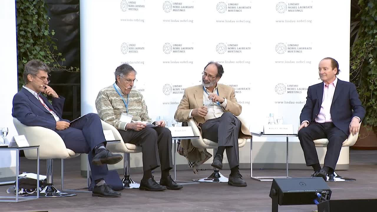 Panel Discussion (2014) - How Useful is Economics - How is Economics Useful? Panelists Diamond, Merton, Roth