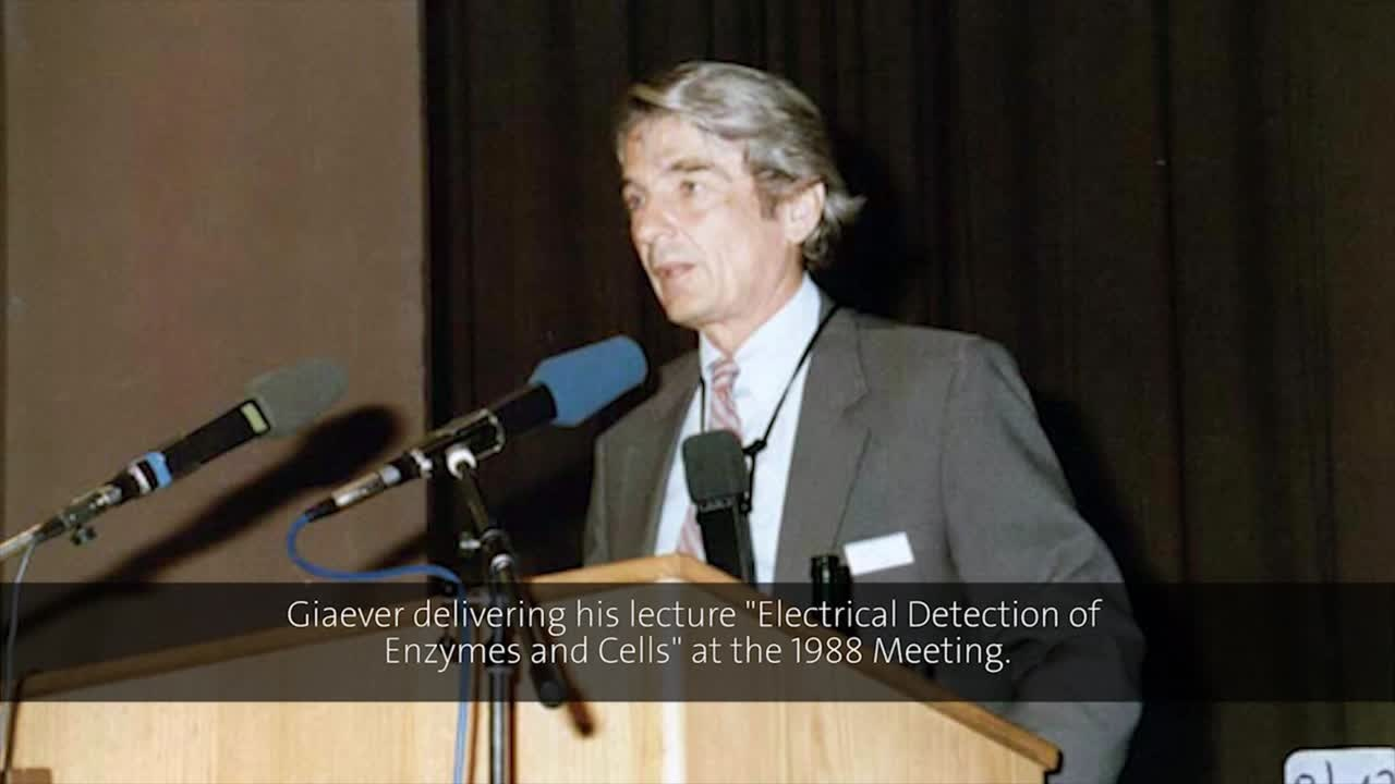 Ivar Giaever (1988) - Electrical Detection of Enzymes and Cells