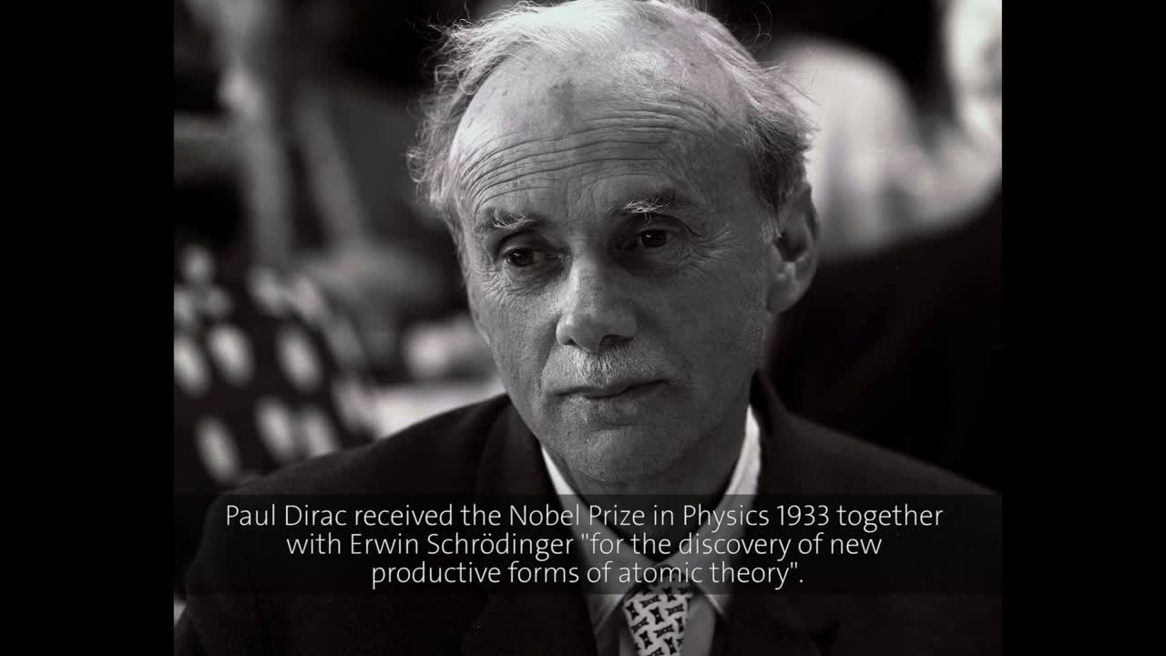 Paul Dirac (1965) - The Foundations of Quantum Mechanics