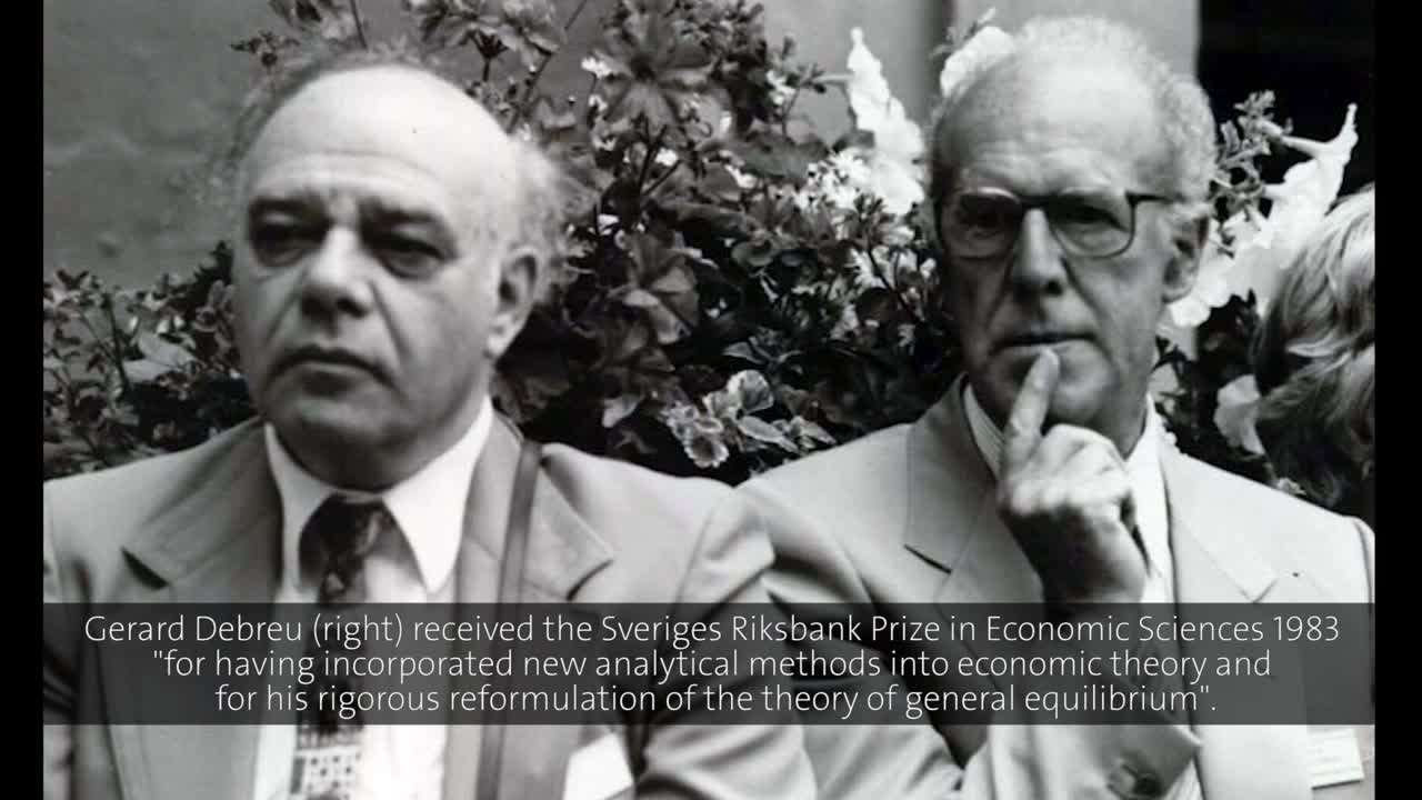 Gerard Debreu (1986) - The Function of Prices: Three Aspects of the Theory of Economic Equilibrium