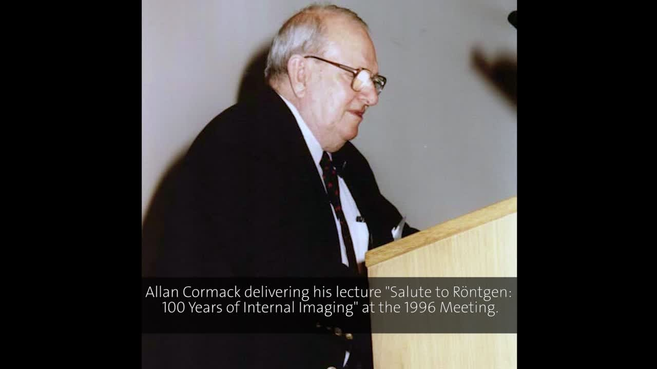Allan Cormack (1996) - Salute to Röntgen: 100 Years of Internal Imaging