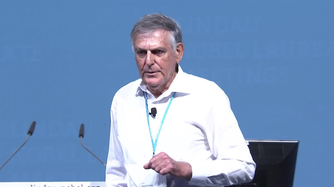 Dan Shechtman (2015) - Quasi-Periodic Crystals, a Paradigm Shift in Crystallography