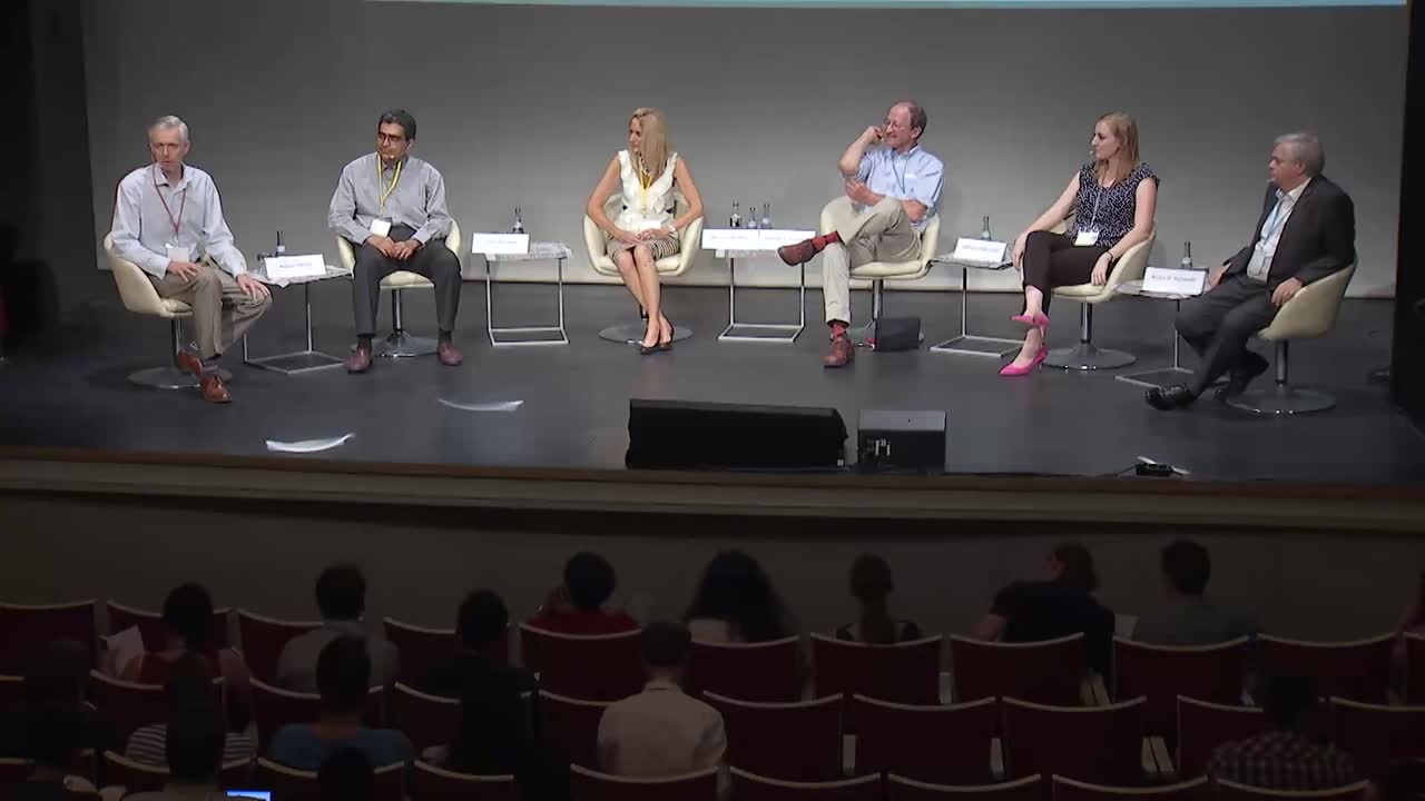 Panel Discussion (2015) - Communication Overkill? (Panelists Schmidt, Varmus, Ladd, McNutt, Rehman; Moderator: Adam Smith)
