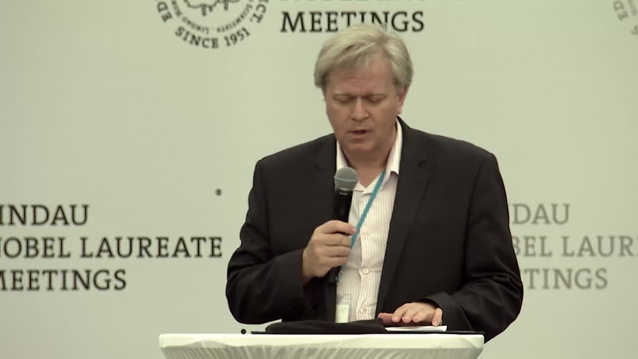 Mainau Declaration 2015  (2015) - Nobel Laureate Brian Schmidt announcing the Mainau Declaration on Climate Change