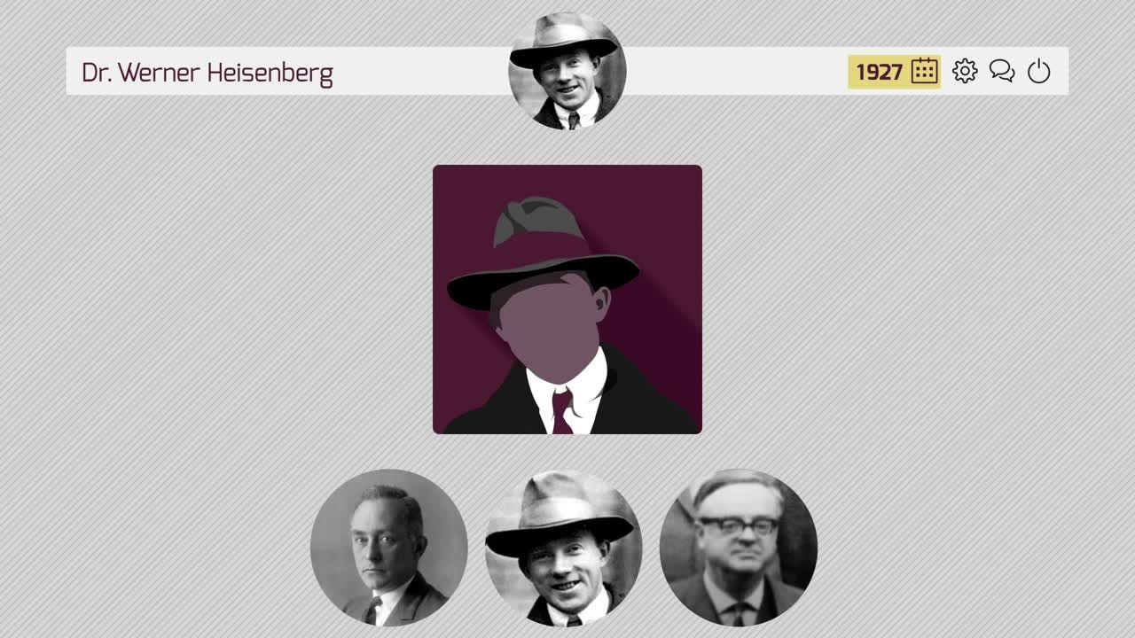 Werner Heisenberg (2015) - Werner Heisenberg is one of the most influential founders of quantum mechanics.