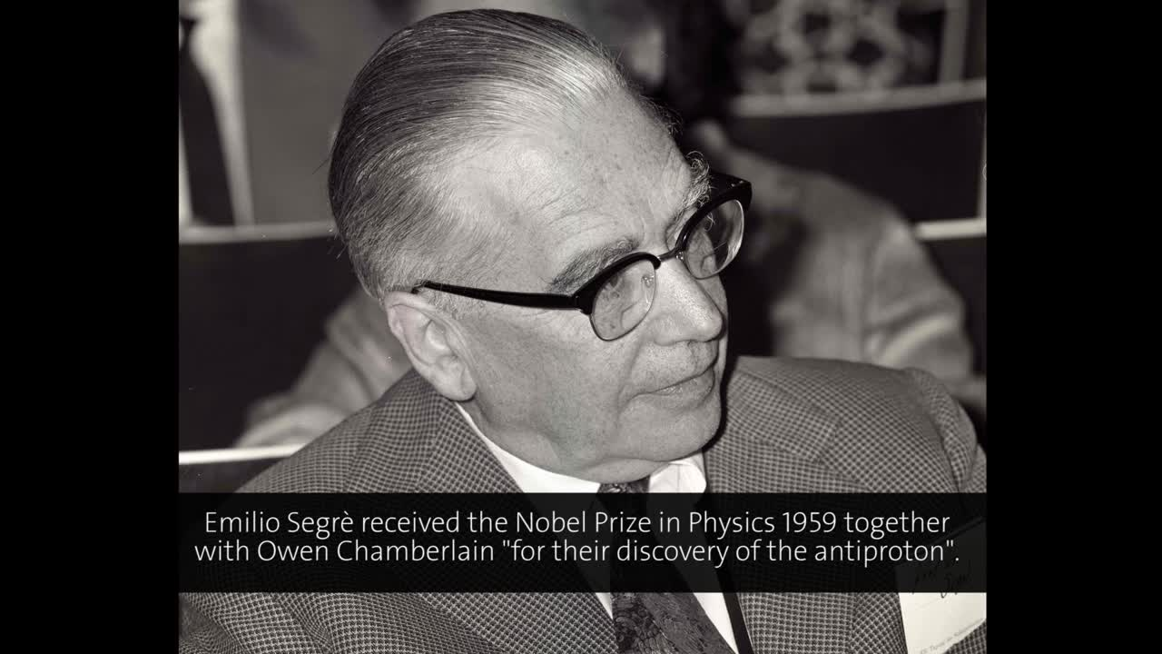 Emilio Segrè (1979) - The Rebirth of Physics in Italy