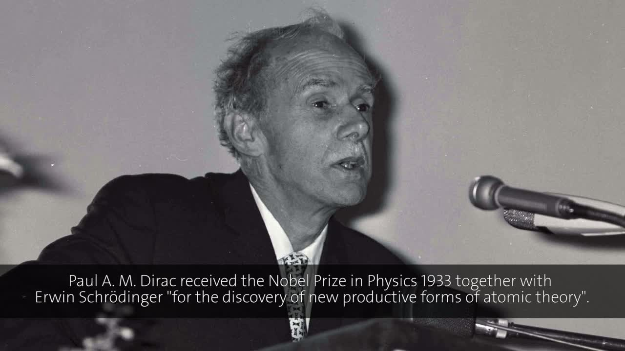 Paul Dirac (1973) - New Ideas of Space and Time