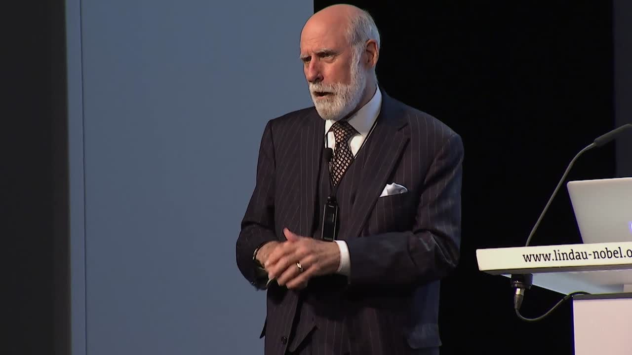 Heidelberg Lecture: Vinton G. Cerf (ACM A.M. Turing Award 2004)  (2016) - The Origins and Evolution of the Internet