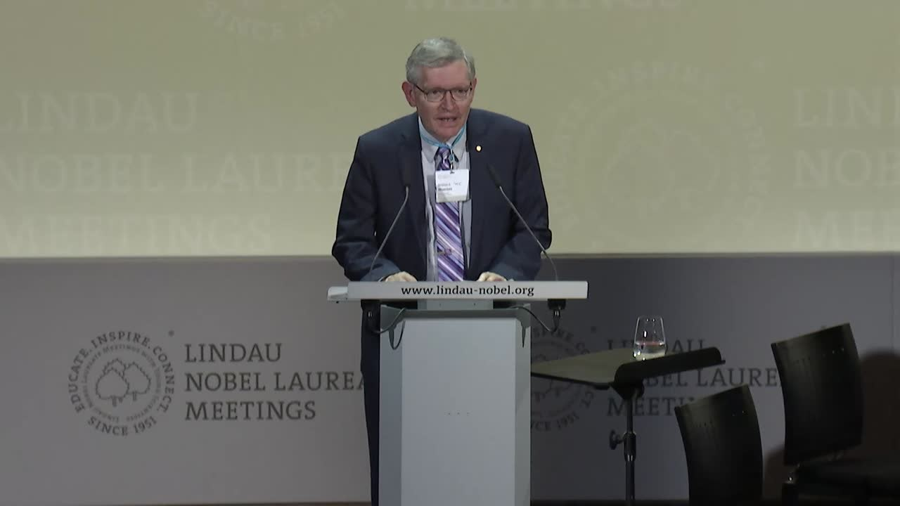 KEYNOTE: SCIENCE AS AN INSURANCE POLICY AGAINST THE RISKS OF CLIMATE CHANGE (2017) - Speech by Steven Chu, delivered by William Moerner at the 67th Lindau Meeting