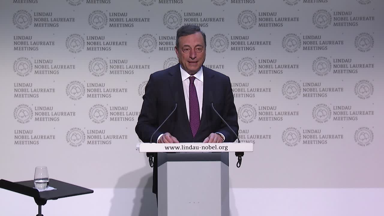 KEYNOTE ADDRESS BY MARIO DRAGHI  (2017) - Speech at the 6th Lindau Meeting on Economic Sciences