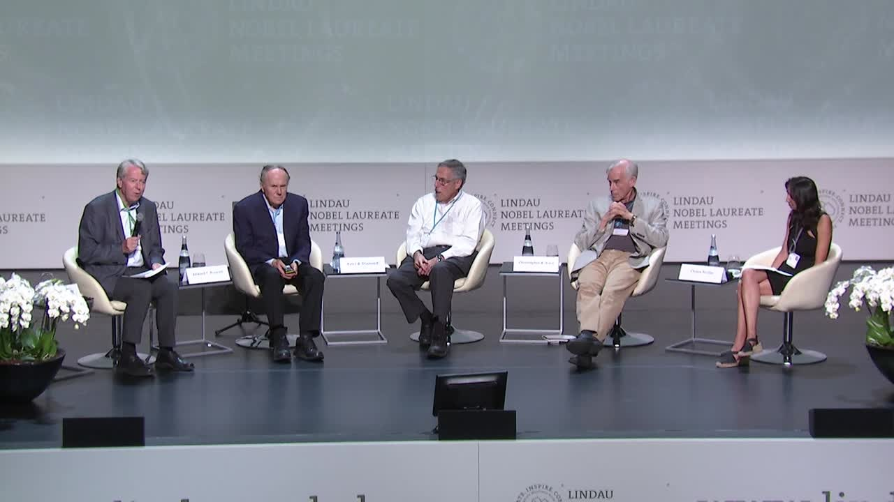 Panel Discussion (2017) - New Conditions for Monetary and Fiscal Policy? Panellists: Peter A. Diamond, Chiara Perillo, Edward C. Prescott, Christopher A. Sims; Moderator: Martin F. Hellwig