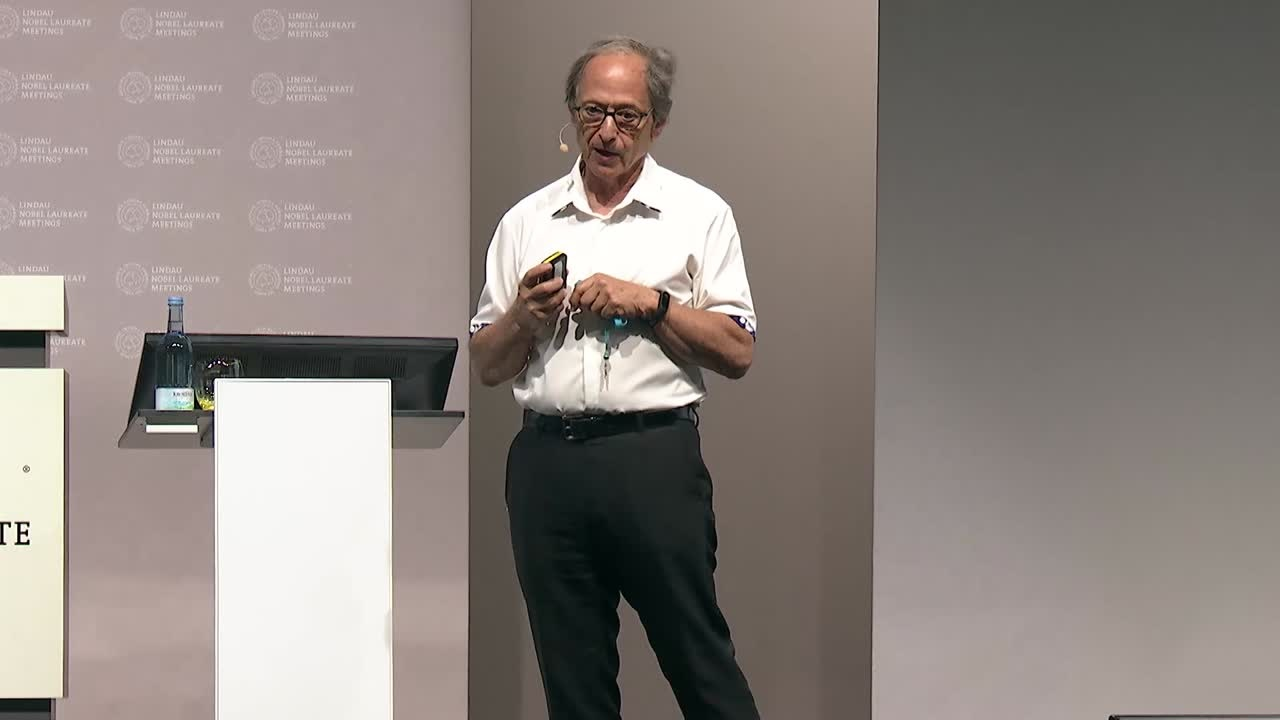 Michael Levitt (2018) - The Future of Basic Science Research