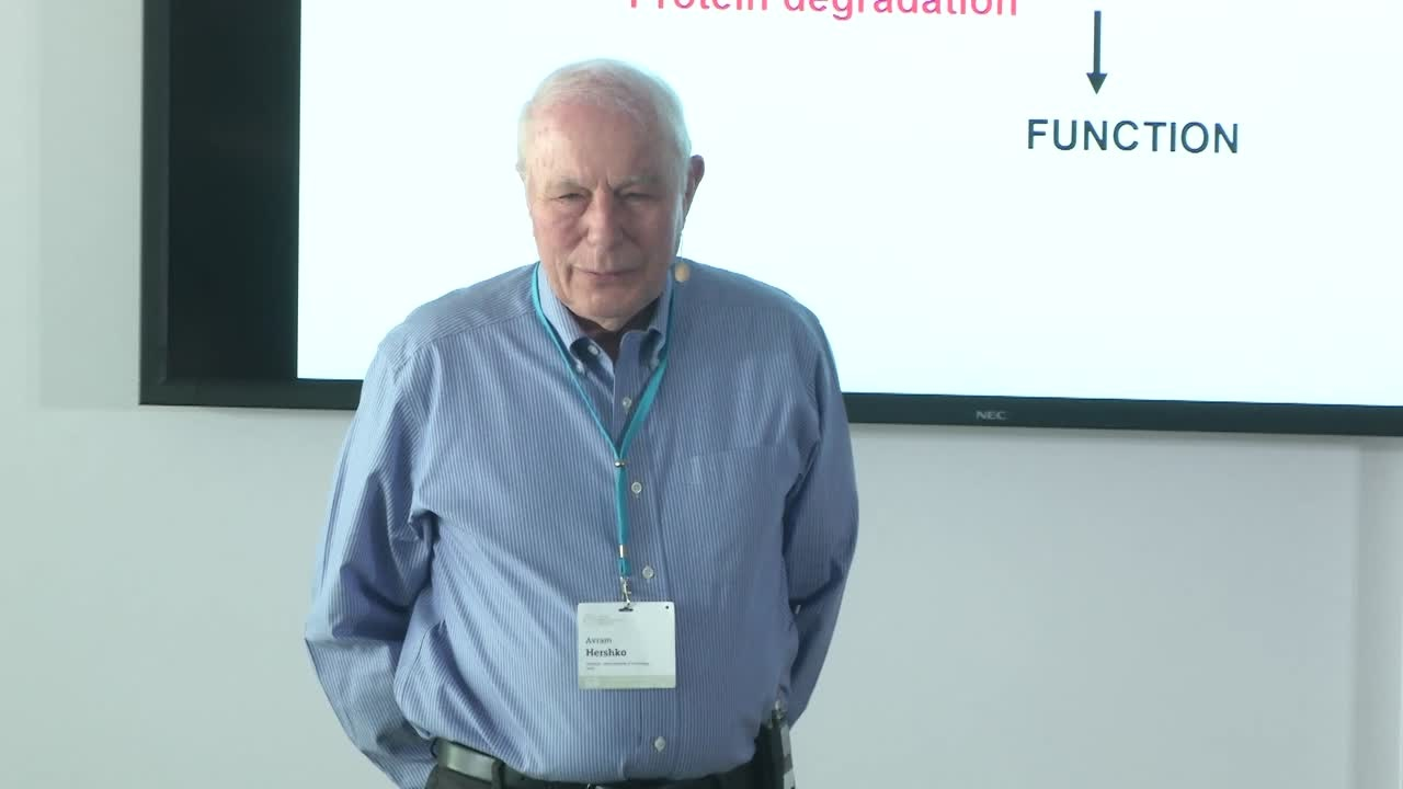 Avram Hershko (2018) - Lessons From the Discovery of the Ubiquitin System