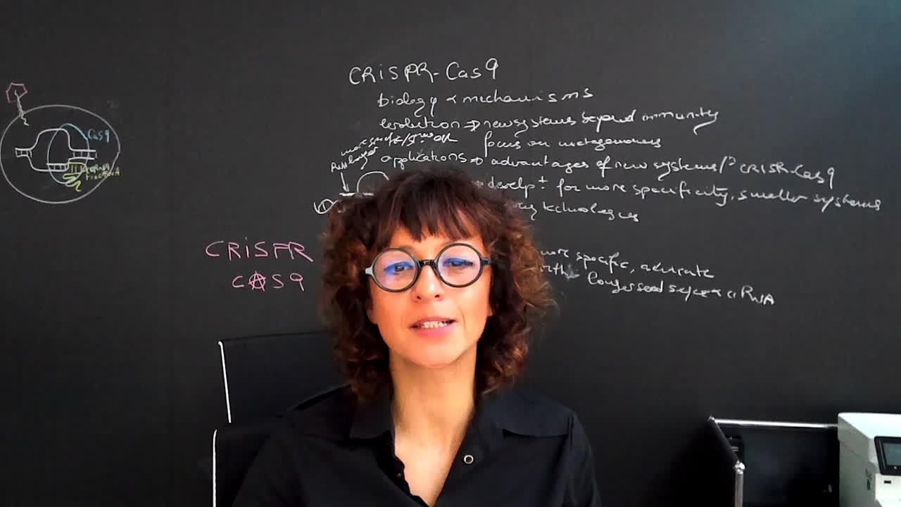 Emmanuelle Charpentier on CRISPR/Cas9  (2018) - Video message by Emmanuelle Charpentier on the occasion of the #LINO18 science breakfast on gene modification